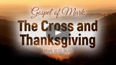 The Cross and Thanksgiving