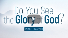 Do You See the Glory of God?