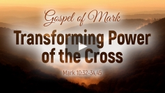 Transforming Power of the Cross